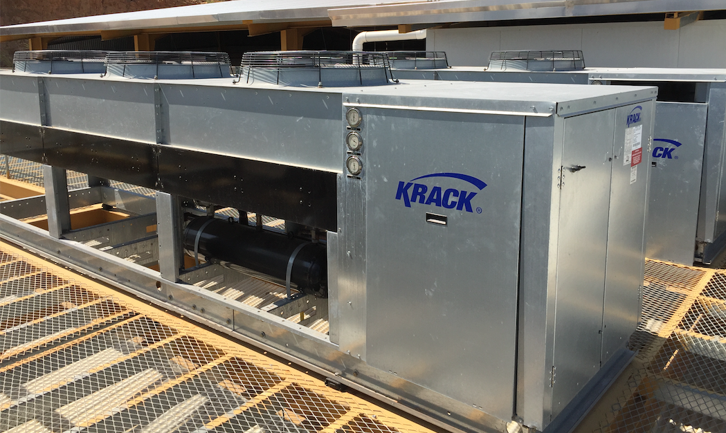 condensadoras krack para plantas procesadoras de pollo