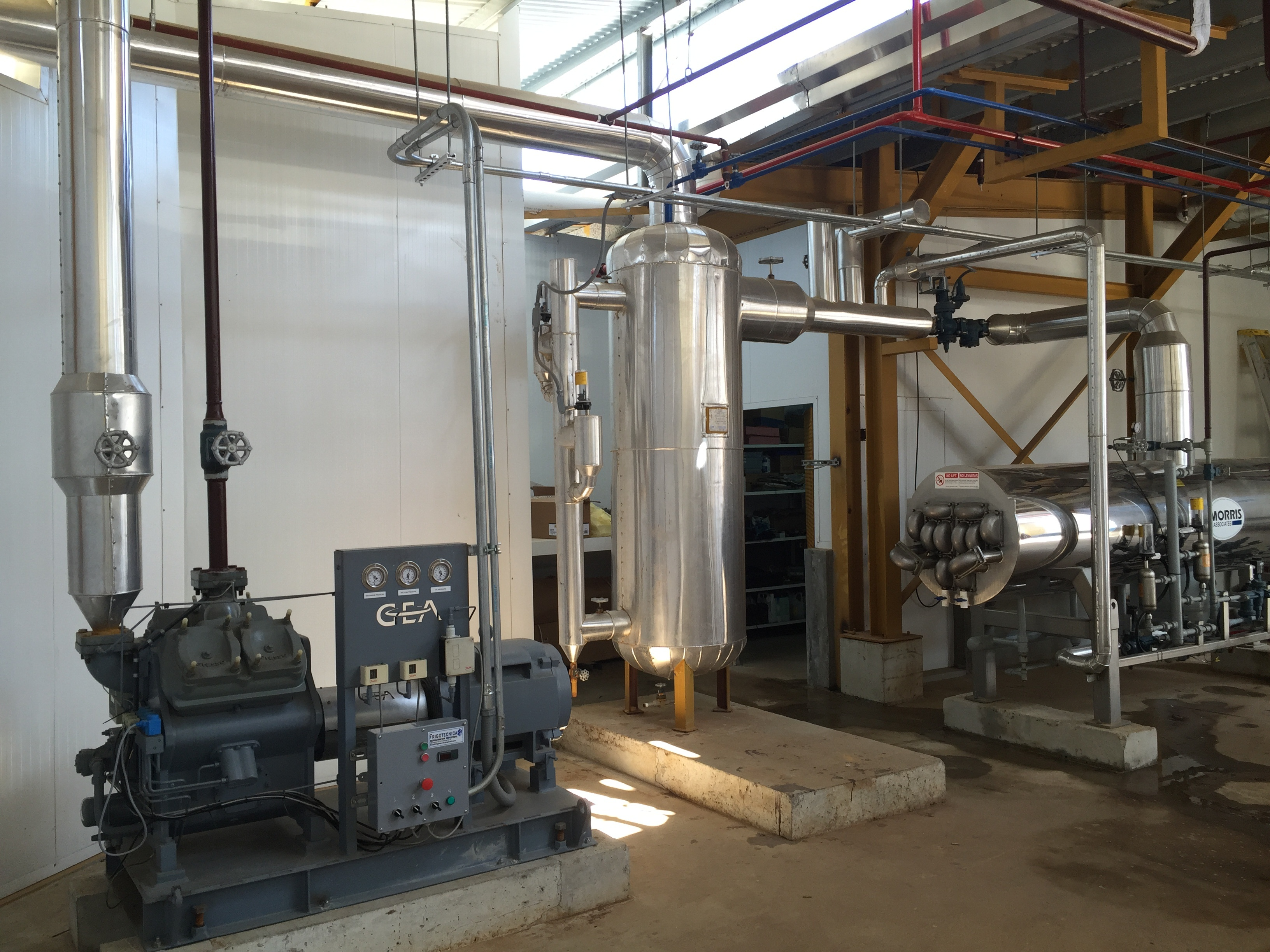 equipos para plantas procesadoras de pollo
