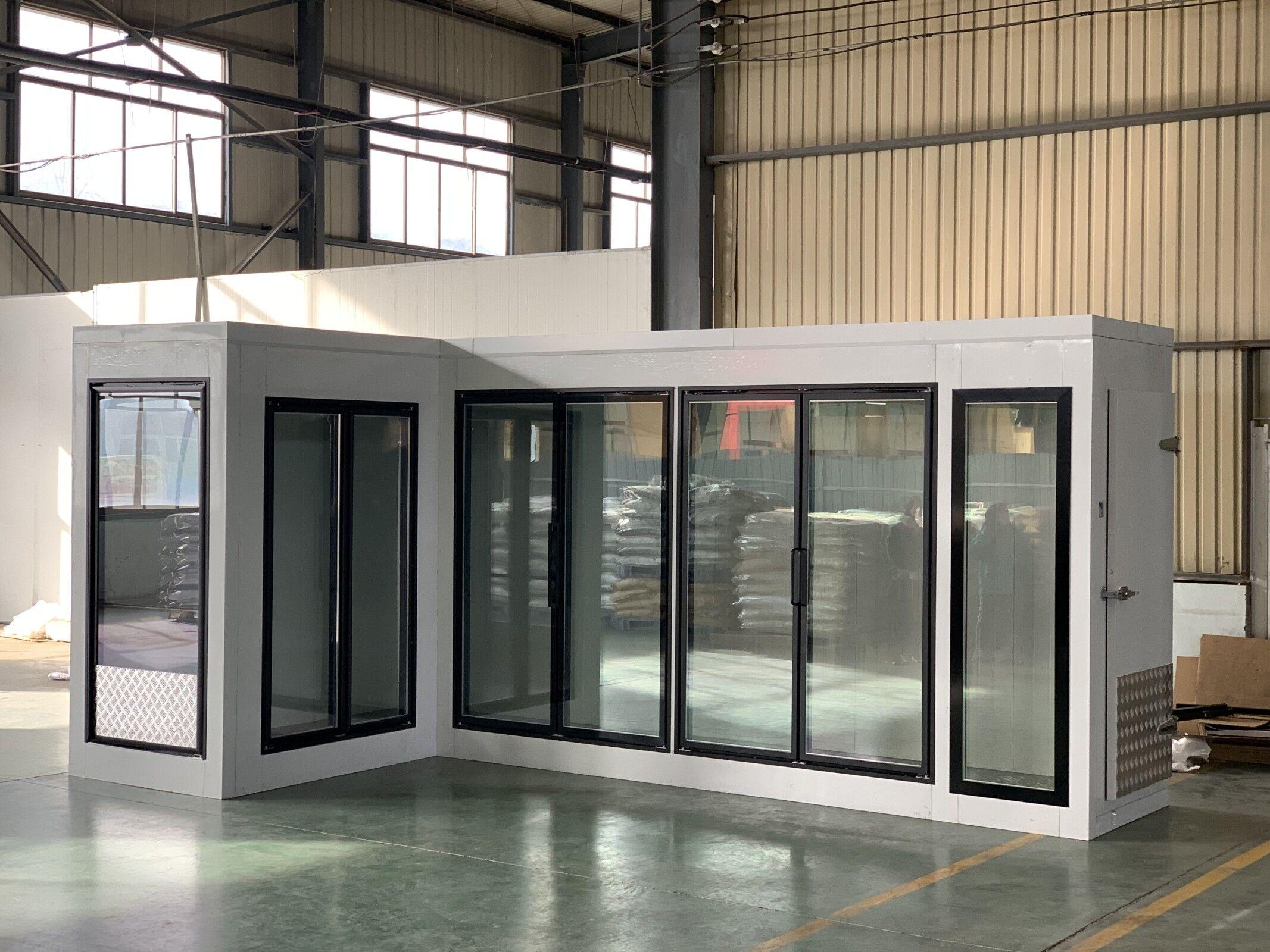 <p>Cooler glass door</p> - Industrial and comercial refrigeración equipment