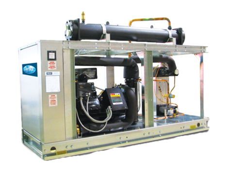 Water Cooled Chillers - Industrial and comercial refrigeración equipment
