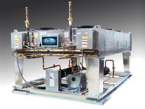 Split-Air Cooled Chillers - Industrial and comercial refrigeración equipment