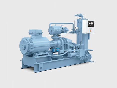 Packaged Screw Compressor Systems - Industrial and comercial refrigeración equipment
