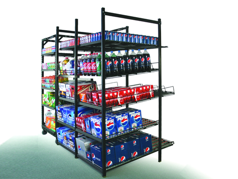 Shelving - Industrial and comercial refrigeración equipment