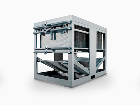Falling Film Chillers - Industrial and comercial refrigeración equipment