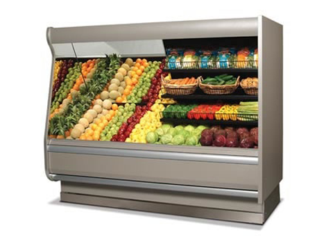 Fruits & Vegetables Display Cases - Industrial and comercial refrigeración equipment