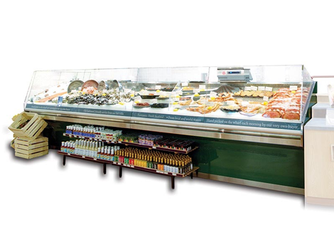 Seafood Display Cases - Industrial and comercial refrigeración equipment