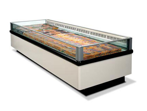 Frozen Food Display Cases - Industrial and comercial refrigeración equipment