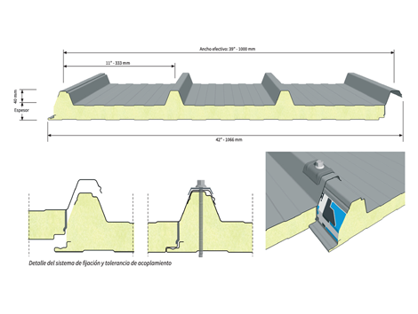 Isocop 4 - Industrial and comercial refrigeración equipment