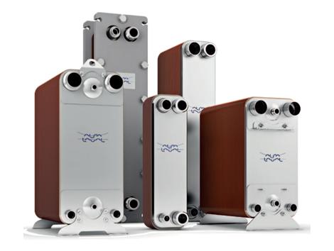 Copper Brazed Plate Heat Exchangers - Industrial and comercial refrigeración equipment