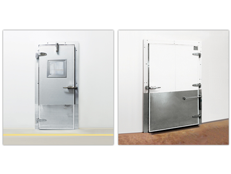 Coldguard Swing Cold Storage Doors - Industrial and comercial refrigeración equipment