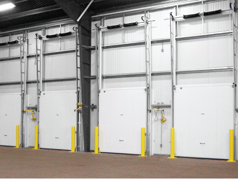 Coldguard Vertical Lift Cold Storage Doors - Industrial and comercial refrigeración equipment