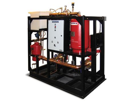 Pump Station - Industrial and comercial refrigeración equipment