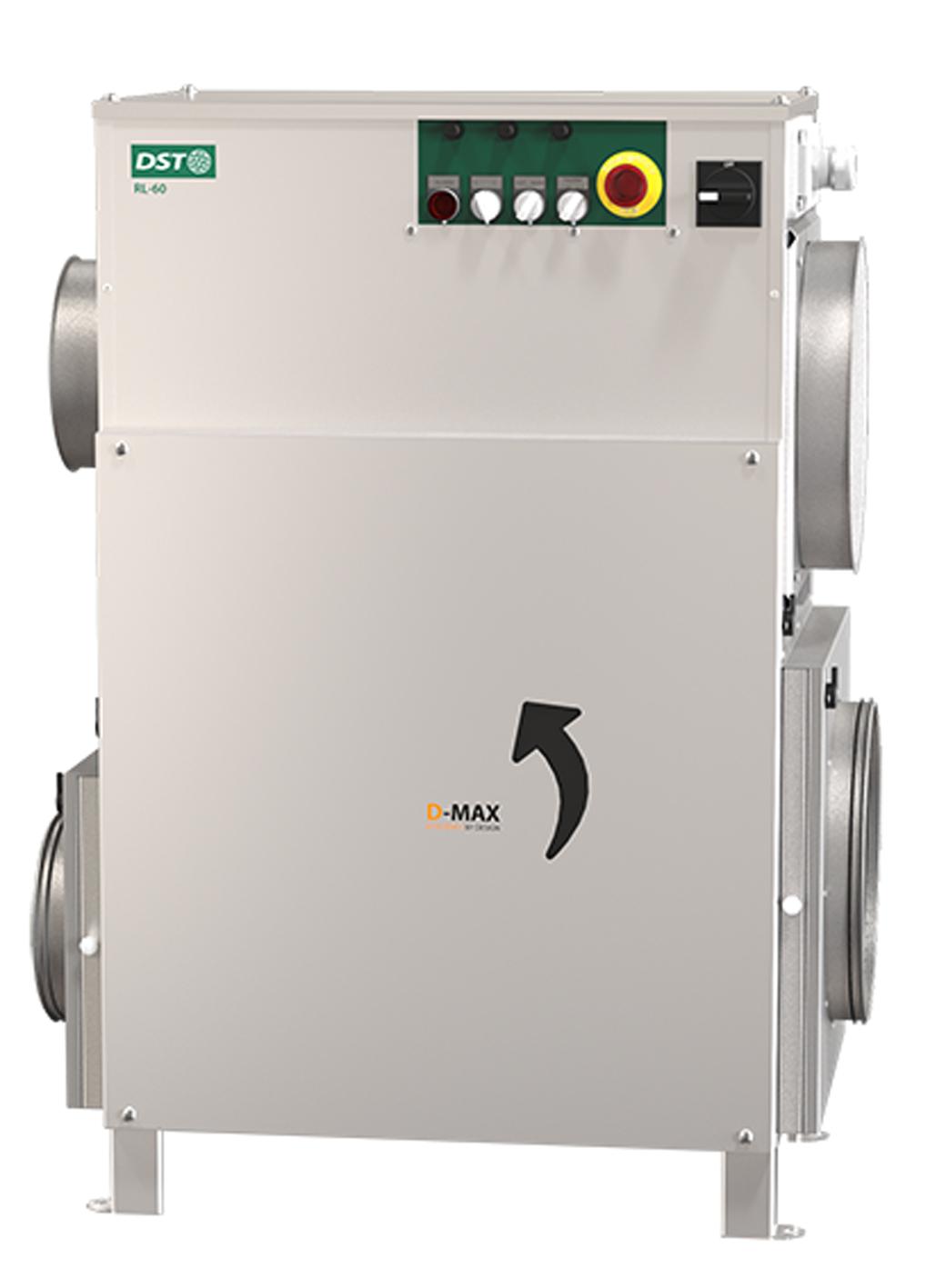 <p>RECUSORB RL-60R/LR</p> - Industrial and comercial refrigeración equipment