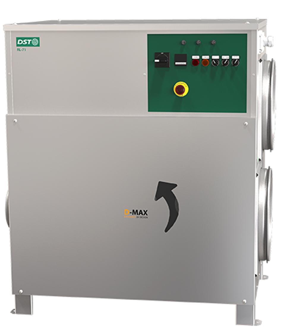 <p>RECUSORB RL-71R/ ICE/ LR</p> - Industrial and comercial refrigeración equipment