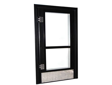Single and Double Walk-In Doors - Industrial and comercial refrigeración equipment