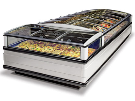 Sliding Glass Lid - Industrial and comercial refrigeración equipment
