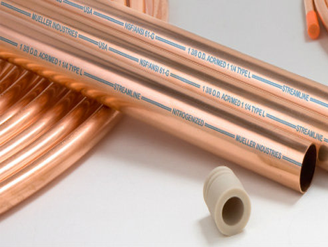 Copper Tube - Industrial and comercial refrigeración equipment