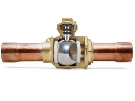 Ball Valves - Industrial and comercial refrigeración equipment