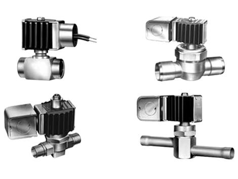 Solenoid Valves - Industrial and comercial refrigeración equipment