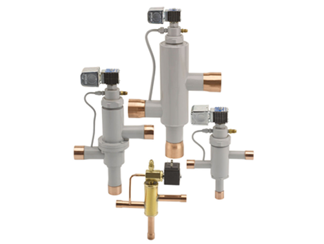 Industrial Refrigeration Valves - Industrial and comercial refrigeración equipment