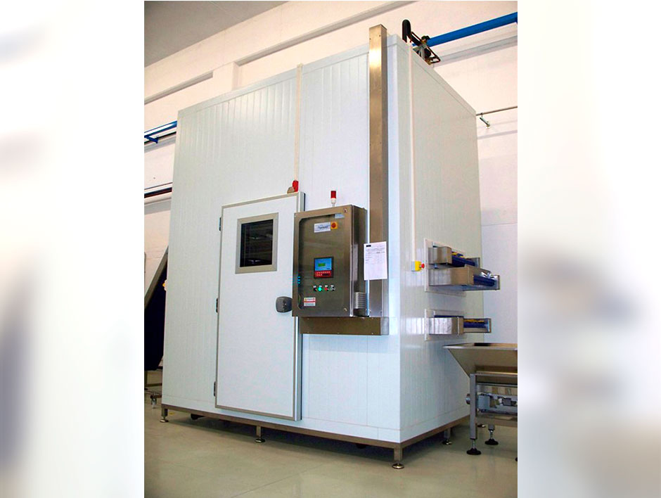 """<p>Model """"AR"""" drying and cooling tunnel</p> - Industrial and comercial refrigeración equipment"""