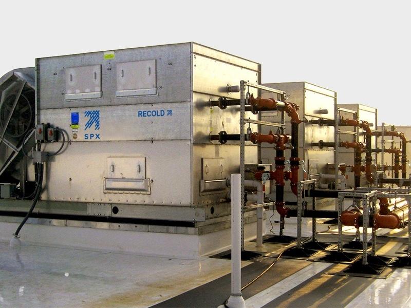 <p>Evaporative Condensers Recold JC</p> - Industrial and comercial refrigeración equipment