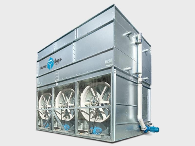 <p>Evaporative Condensers Cube BTC</p> - Industrial and comercial refrigeración equipment