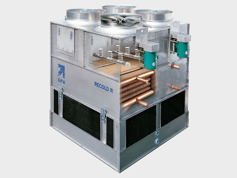 <p>Recold MW closed tower</p> - Industrial and comercial refrigeración equipment