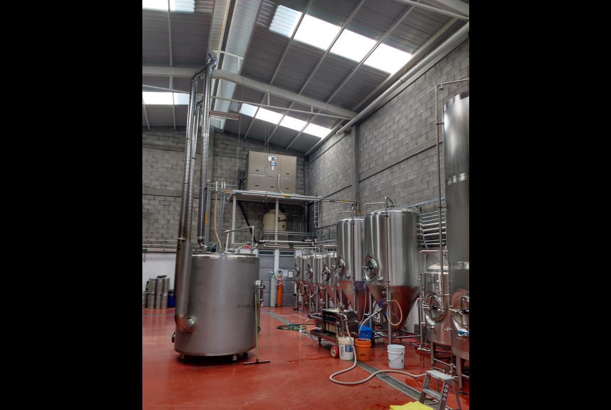 Equipo de refrigeración para cerveza artesanal